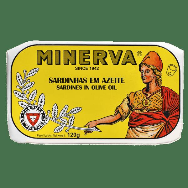 Conserva de sardinhas em azeite Minerva
