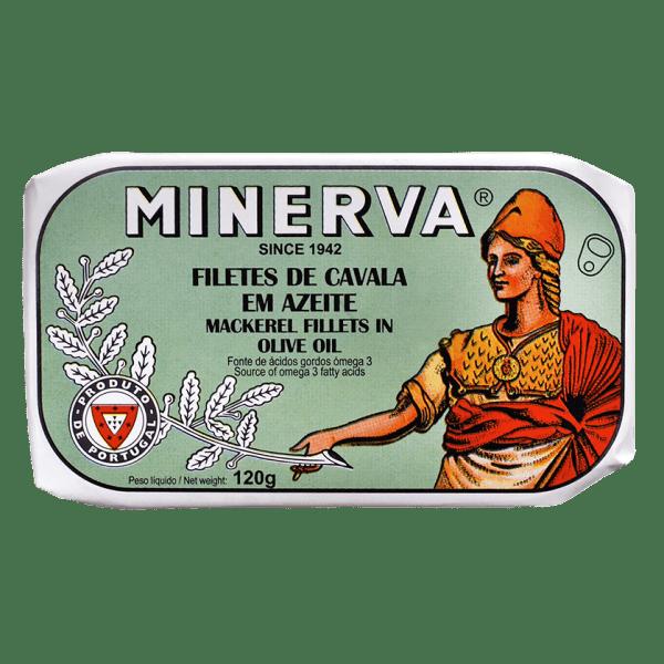 Filetes de cavala em azeite Minerva