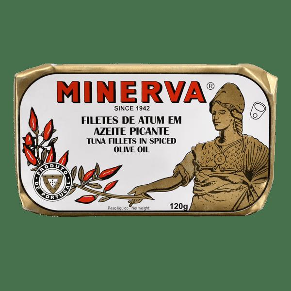 Filetes de atum picante Minerva