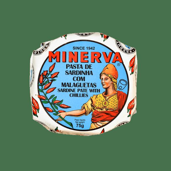 Paté de sardinha picante com malaguetas Minerva