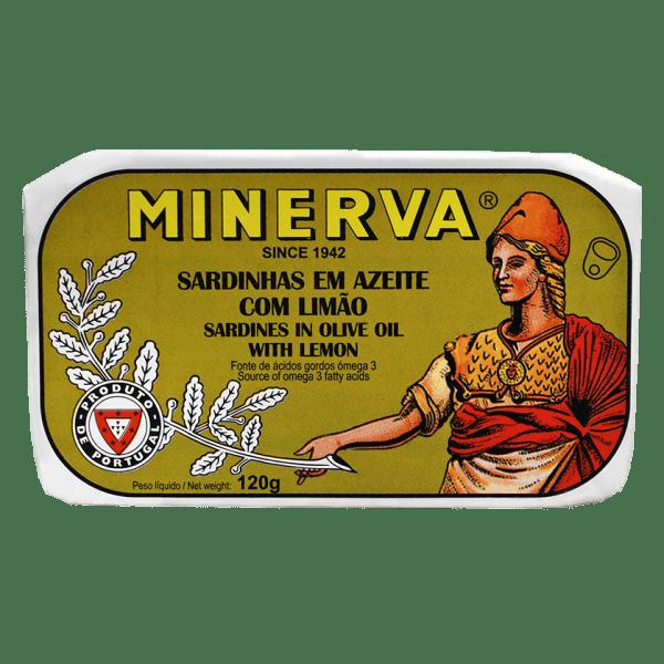 Sardinhas em azeite com Limão Minerva