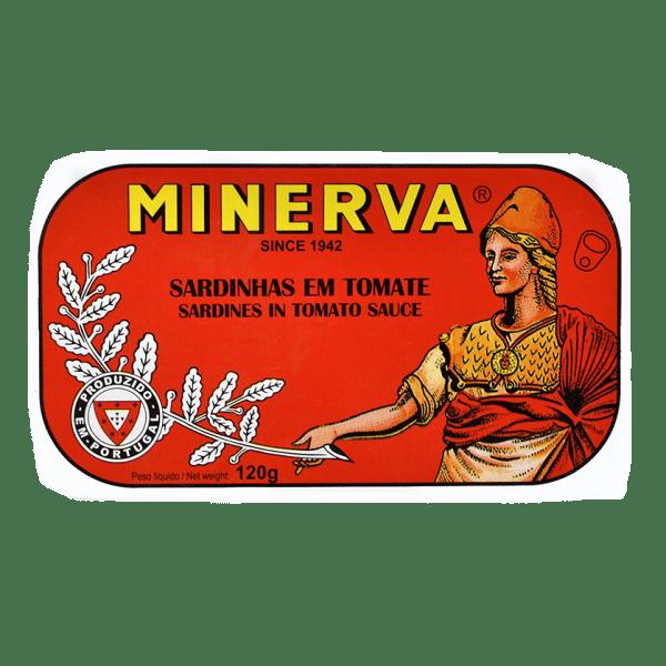 Sardinhas em tomate de conservas Minerva