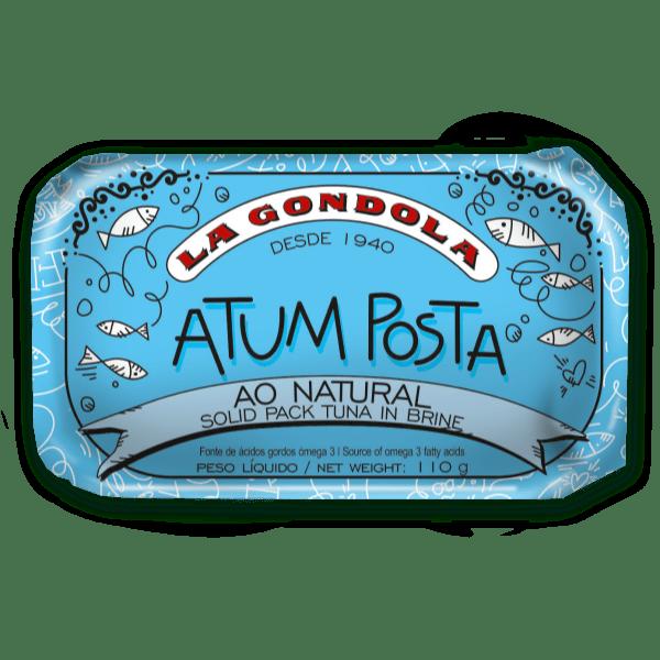 Lata de atum posta ao natural La Góndola