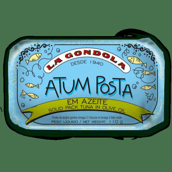 Lata de atum posta em azeite de oliva La Góndola