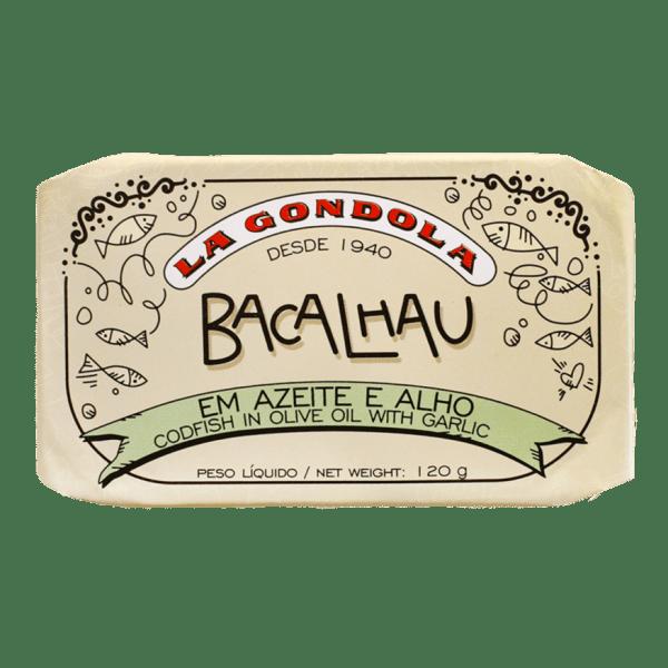 Conserva de bacalhau em azeite e alho La Góndola