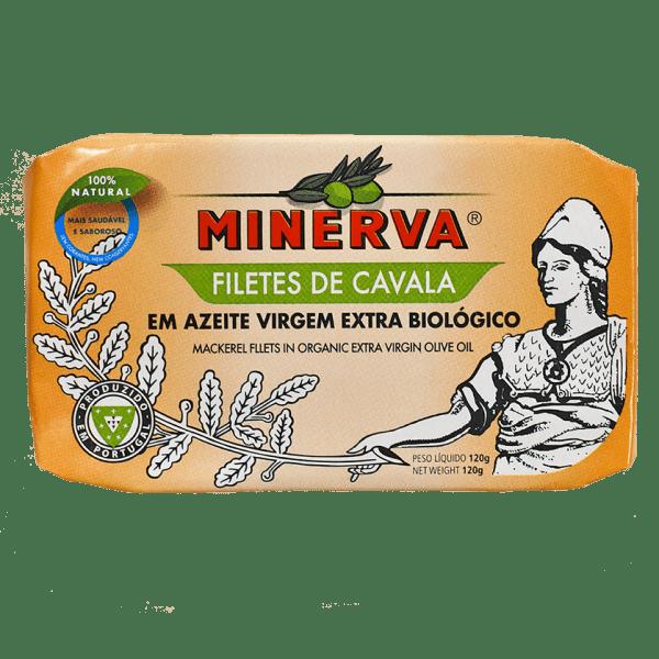 Filetes de cavala em Azeite Virgem Extra Biológico