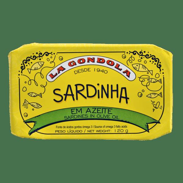 Conserva de sardinhas em azeite La Góndola