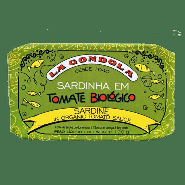 Conservas de sardinha em tomate biológico La Góndola