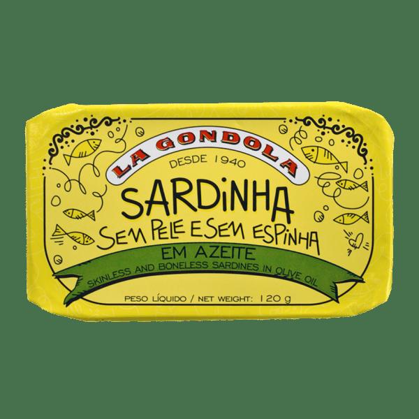 Conserva de sardinhas sem pele e sem espinhas La Góndola